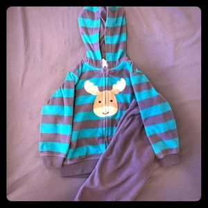 Just One You by Carters Hoodie and Pants